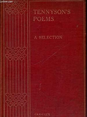 TENNYSSON'S POEMS, A SELECTION: TENNYSSON