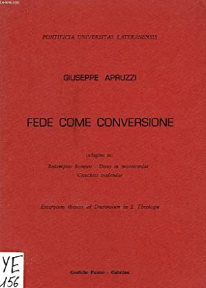 FEDE COME CONVERSIONE: APRUZI GIUSEPPE