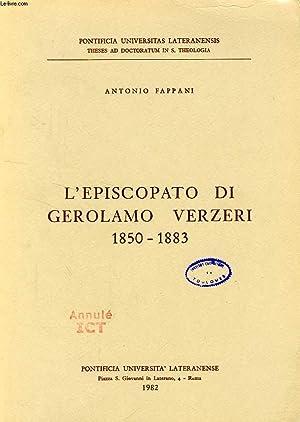 L'EPISCOPATO DI GIROLAMO VERZERI, 1850-1883: FAPPANI ANTONIO