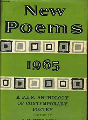 NEW POEMS 1965, A P.E.N. ANTHOLOGY OF CONTEMPORARY POETRY: C. V. WEDCWOOD