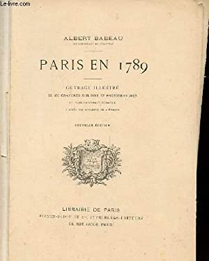 PARIS EN 1789: BABEAU ALBERT