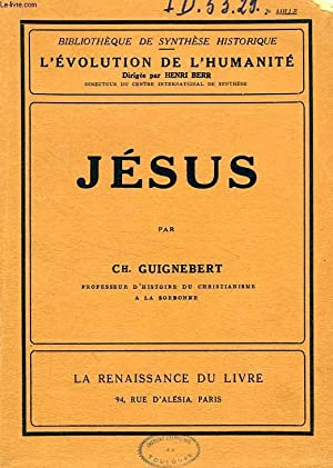 JESUS: GUIGNEBERT Ch.