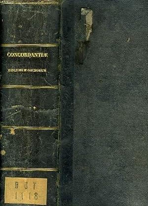 CONCORDANTIAE BIBLIORUM SACRORUM VULGATAE EDITIONIS: DUTRIPON F. P.