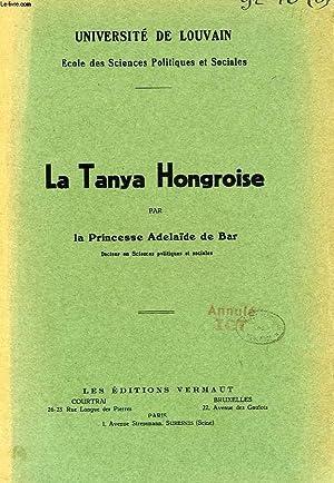 LA TANYA HONGROISE: ADELAIDE DE BAR PRINCESSE