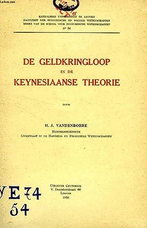 DE GELDKRINGLOOP IN DE KEYNESIAANSE THEORIE: VANDENBORRE H. J.