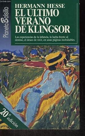 EL ULTIMO VERANO DE KLINGSOR Y OTRAS NARRACIONES: HERMANN HESSE
