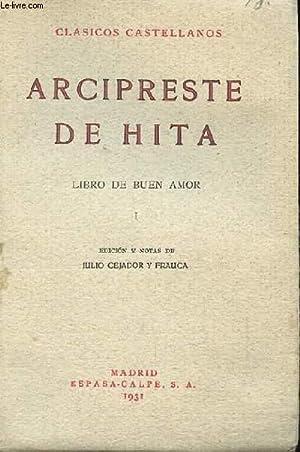 LIBRO DE BUEN AMOR I: ARCIPRESTE DE HITA