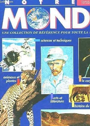 NOTRE MONDE (22 NUMEROS): COLLECTIF