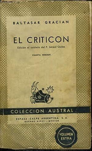 EL CRITICON: BALTASAR GRACIAN