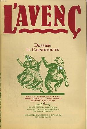 L'AVENC, REVISTA D'HISTORIA, N°24, FEBRER 1980, DOSSIER: EL CARNESTOLTES PER ...
