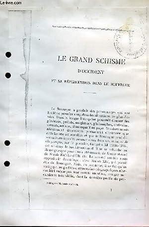 Le Grand Schisme d'Occident et sa Répercussion dans le Rouergue.: CONSTANS Marius