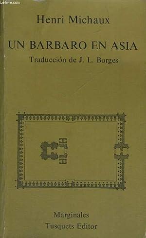 UN BARBARO EN ASIA: HENRI MICHAUX