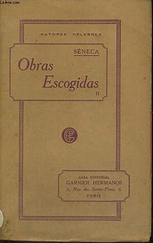 OBRAS ESCOGIDAS II: SENECA