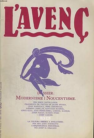 L'AVENC, REVISTA D'HISTORIA, N°25, MARC 1980, DOSSIER: COLLECTIF