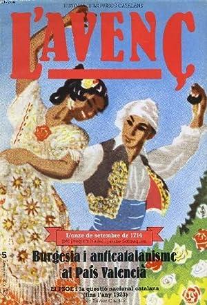 L'AVENC, HISTORIA DEL PAISOS CATALANS, N°5, SETEMBRE: COLLECTIF