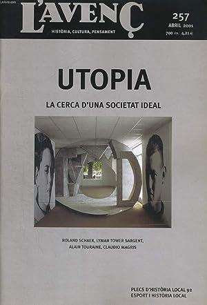 L'AVENC, HISTORIA, CULTURA, PENSAMENT, N°257, ABRIL 2001,: COLLECTIF