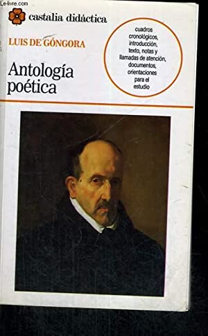 ANTOLOGIA POETICA: LUIS DE GONGORA