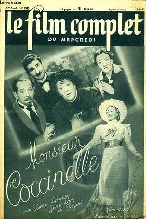 LE FILM COMPLET DU MERCREDI N° 2515. MONSIEUR COCCINELLE avec PIERRE LARQUEY, JANE LORY et PIZANI: ...
