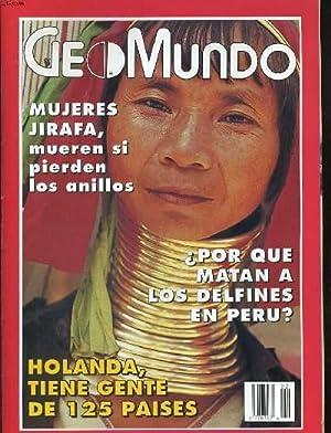 GEOMUNDO, REVISTA MENSUAL, ANO XVIII, N°2, FEBRERO DE 1994. HOLANDA, TIENE GENTE DE 125 PAISES ...