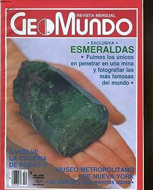 GEOMUNDO, REVISTA MENSUAL, VOL.12, N°2. EXCLUSIVA, ESMERALDAS, FUIMOS LOS UNICOS EN PENETRAR EN...