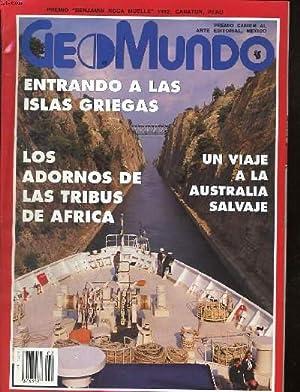 GEOMUNDO, REVISTA MENSUAL, ANO XVII, N°2, FEBRERO DE 1993. ENTANDO A LAS ISLAS GRIEGAS / ...