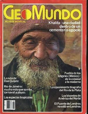 GEOMUNDO, REVISTA MENSUAL, VOL.6, N°9, SEPTEMBRE 1982. KHALIFA UNA CIUDAD DENTRO DE UN ...