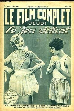 LE FILM COMPLET DU JEUDI N° 907. LE JEU DELICAT: Roman ciné de ROBERT PARTHENAY