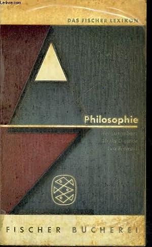 PHILOSOPHIE: HELMUTH PLESSNER, ALWIN DIEMER, IVO FRENZEL