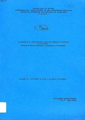 DOCUMENT SCIENTIFIQUE, N° 17, JUIN 1992, COMMERCE: GOUJET R., LOOTVOET