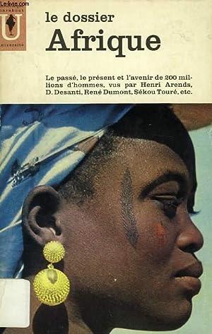 LE DOSSIER AFRIQUE: COLLECTIF