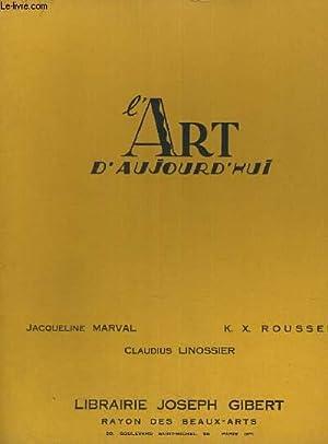 L ART D AUJOURD HUI SOMMAIRE DU FASCICULE D HIVER MCMXXIX: COLLECTIF