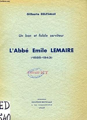 L'ABBE EMILE LEMAIRE (1885-1943): DELESALLE GILBERTE