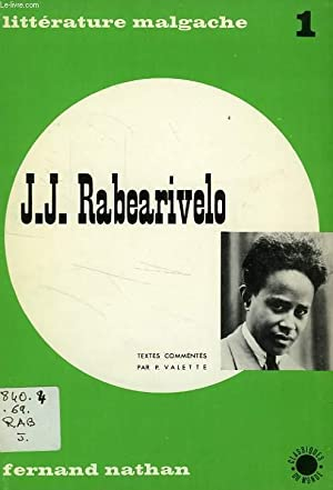 J. J. RABEARIVELO: RABEARIVELO J. J.