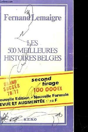 LES 500 MEILLEURES HISTOIRES BELGES - HORS SERIE N°9: FERNAND LEMAIGRE