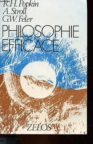 PHILOSOPHIE EFFICACE: R. H. POPKIN, A. STROLL, G. W. FELLER