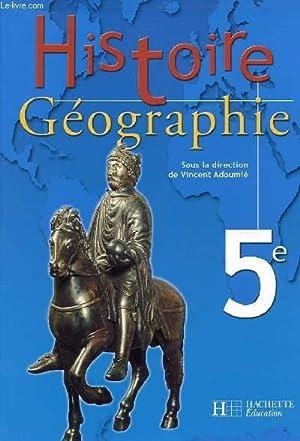 HISTOIRE GEOGRAPHIE 5e: VINCENT ADOUMIE