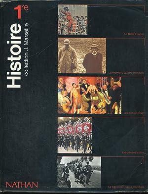 HISTOIRE 1re.: J. MARSEILLE, J.P. AZEMA, R. BENICHI, G. GELY.