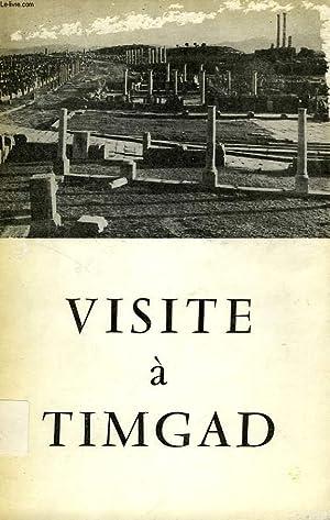 VISITE A TIMGAD: LASSUS JEAN