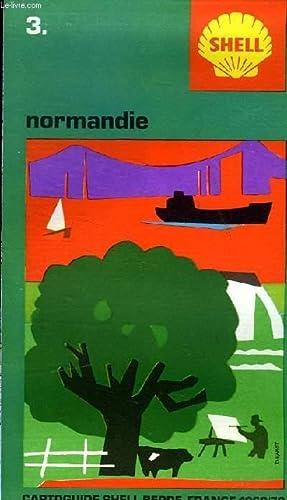 NORMANDIE. CARTOGUIDE SHELL BERRE N°3: COLLECTIF
