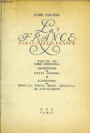 LA FRANCE - PARIS & ILE DE FRANCE: DORE OGRIZEK
