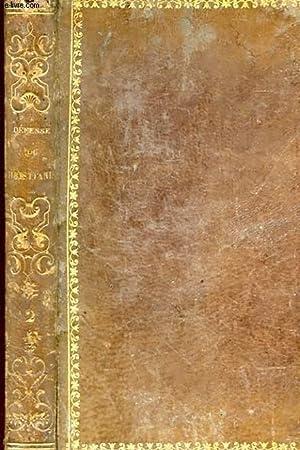 DEFENSE DU CHRISTIANISME OU CONFERENCES SUR LA RELIGION TOME SECOND: M. D. FRAYFSINOUS