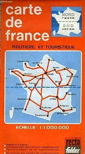 CARTE DE FRANCE ROUTIERE ET TOURISTIQUE by COLLECTIF: Map ...