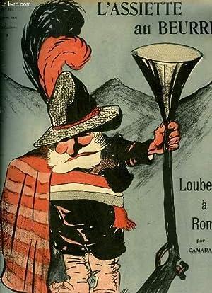 """L'Assiette au Beurre N°160.""""Loubet à Rome"""".: CAMARA"""
