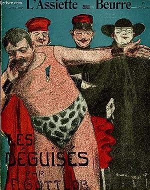 """L'Assiette au Beurre N°209.""""Les déguisés"""".: GOTTLOB"""