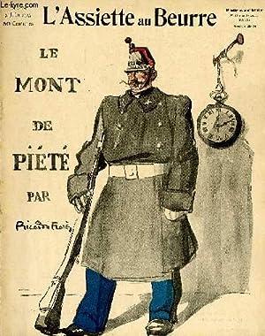 """L'Assiette au Beurre N°218.""""Le Mont de Piété"""".: FLORES Ricardo"""