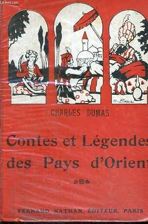 CONTES ET LEGENDES DES PAYS D'ORIENT - QUATRIEME EDITION - -COLLECTION DE CONTES ET LEGENDES ...