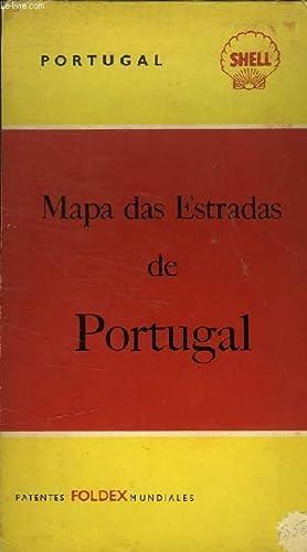 MAPA DAS ESTRADAS DE PORTUGAL: SHELL