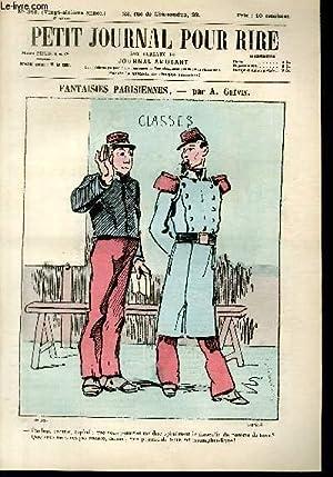 Petit journal pour rire N°348 de la 3è série, Fantaisies parisiennes par Gr&...