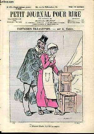 Petit journal pour rire N°371 de la 3è série, Fantaisies villageoises par Gr&...
