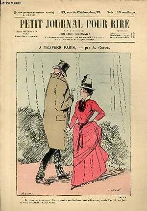 Petit journal pour rire N°98 de la 4è série, A travers Paris par Grévin.: ...